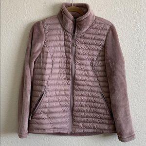 Winter faux fur fleece jacket